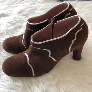 Marni Tronchetto Ankle Boots
